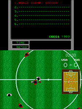 Thumb image for World Championship Soccer (Mega-Tech) mame emulator game