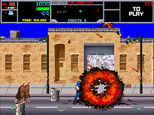 Thumb image for Narc (rev 7.00) mame emulator game