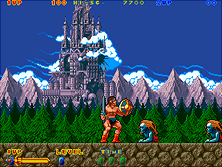 Thumb image for Nastar Warrior (US) mame emulator game