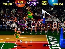 Thumb image for NBA Hangtime (rev L1.1 04/16/96) mame emulator game