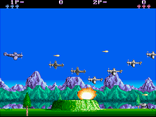 Thumb image for P-47 - The Freedom Fighter (Japan) mame emulator game