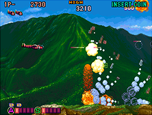 Thumb image for P-47 Aces mame emulator game