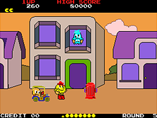 Thumb image for Pac-Land (Japan newer) mame emulator game