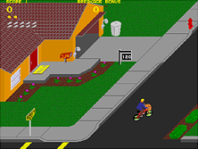 Thumb image for Paperboy (rev 1) mame emulator game