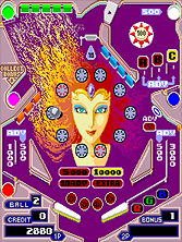 Thumb image for Pinball Action (set 3, encrypted) mame emulator game