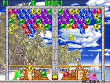 Thumb image for Bust-A-Move Again (Ver 2.3A 1995/07/31) mame emulator game