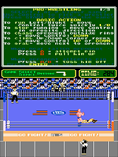 Thumb image for Pro Wrestling (PlayChoice-10) mame emulator game