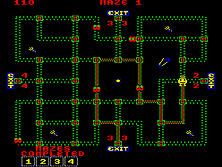 Thumb image for Pepper II mame emulator game