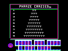 Thumb image for Phraze Craze (Sex Kit) mame emulator game Category: -