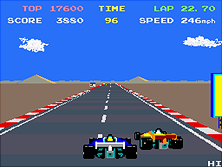 Thumb image for Pole Position II mame emulator game