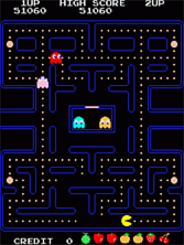 Thumb image for Pac-Man (Galaxian hardware) mame emulator game