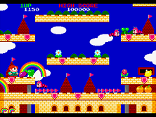 Thumb image for Rainbow Islands (new version) mame emulator game