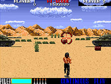 Thumb image for Rambo III (US) mame emulator game
