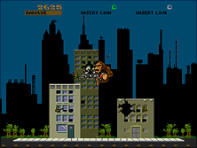 Thumb image for Rampage (revision 3) mame emulator game