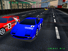 Thumb image for Rave Racer (Rev. RV2, World) mame emulator game