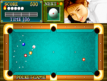 Thumb image for Billiard Academy Real Break (Korea) mame emulator game