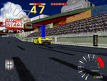 Thumb image for Ridge Racer (Rev. RR1, Japan) mame emulator game