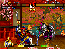 Thumb image for Fighters Swords (Korean release of Samurai Shodown III) mame emulator game