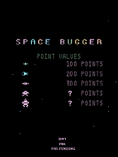 Thumb image for Space Bugger (set 1) mame emulator game