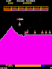 Thumb image for Scramble (Galaxian hardware) mame emulator game