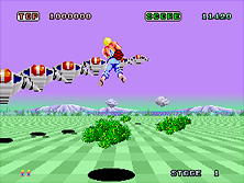 Thumb image for Space Harrier (Rev A, 8751 315-5163A) mame emulator game