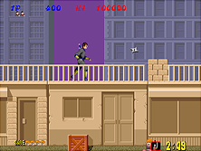 Thumb image for Shinobi (set 6, System 16A, unprotected) mame emulator game