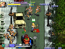 Thumb image for Shock Troopers - 2nd Squad mame emulator game