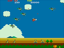 Thumb image for Sky Kid Deluxe (set 2) mame emulator game