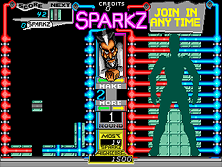 Thumb image for Sparkz (prototype) mame emulator game