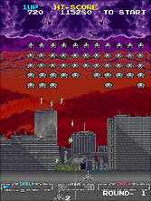 Thumb image for Majestic Twelve - The Space Invaders Part IV (Japan) mame emulator game