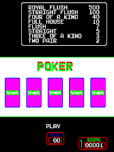 Thumb image for Super Draw Poker mame emulator game