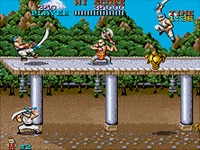 Thumb image for Tiger Road (US) mame emulator game