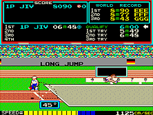 Thumb image for Hyper Olympic mame emulator game