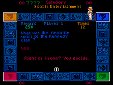Thumb image for Trivial Pursuit (Genus I) (set 1) mame emulator game