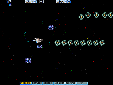 Thumb image for Gradius II - GOFER no Yabou (Japan Old Ver.) mame emulator game