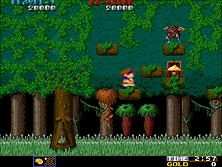 Thumb image for Wardner (World) mame emulator game