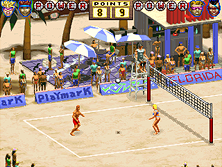 Thumb image for World Beach Volley (set 1) mame emulator game