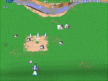Thumb image for Xevious 3D/G (XV31/VER.A) mame emulator game