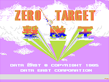Thumb image for Zero Target (World) mame emulator game